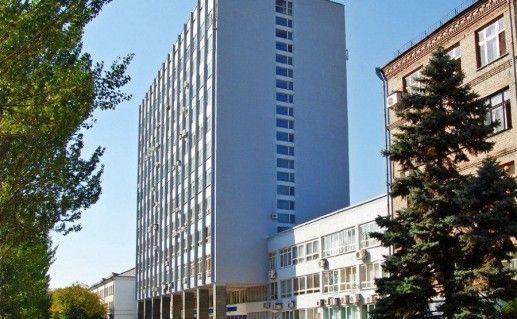 фотография вида на ДонНУ в Донецке