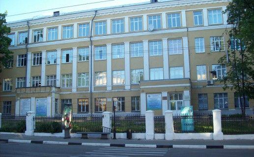 вид на НГЛУ в Нижнем Новгороде фото