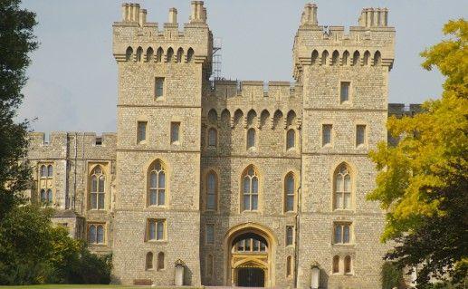 фото Виндзорского замка в Англии