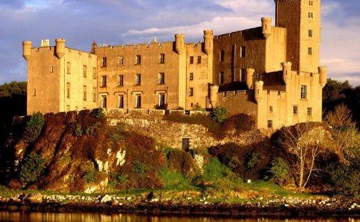 фотография замка Данвеган в Шотландии