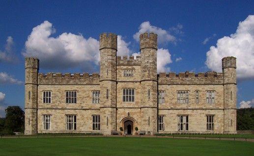 фото замка Лидс в Англии
