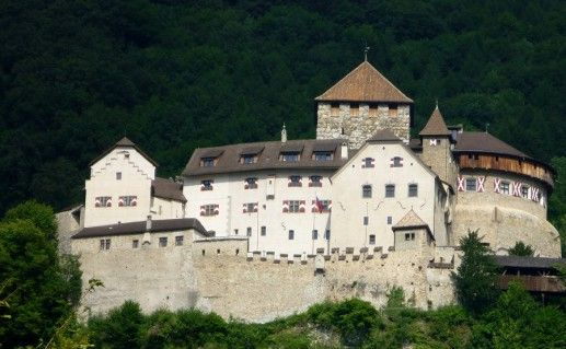 фото замка Вадуц в Лихтенштейне