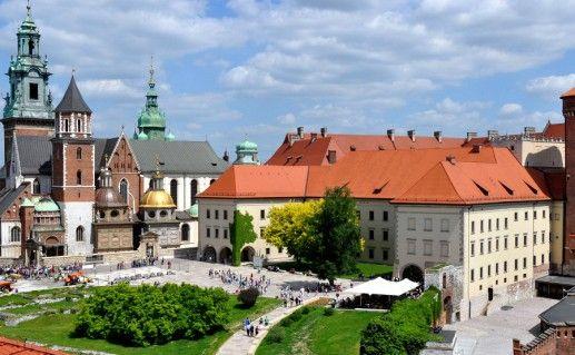 Вавельский замок в Польше фотография