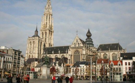 Кафедральный собор антверпенской Богоматери фото