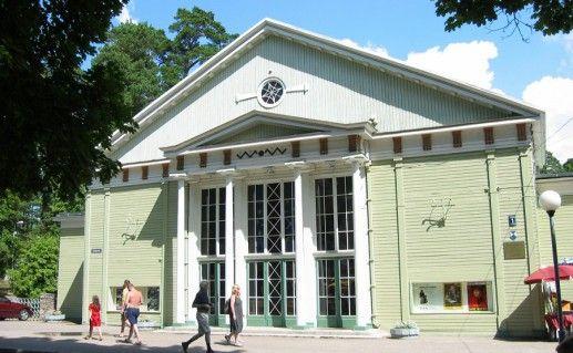 Фотография здания концертного зала Дзинтари