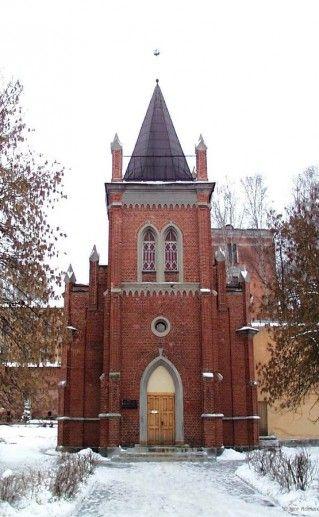 Краеведческий музей Полоцка в здание лютеранской кирхи фото
