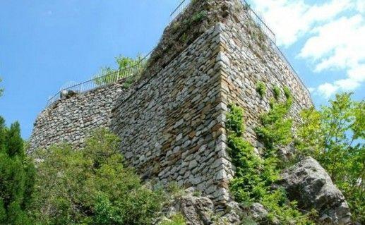Крепость Горзувиты на скале Дженевез-Кая фотография