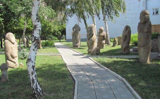 Фото парка-музея половецких баб