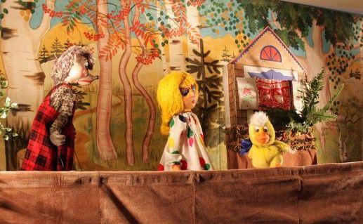 Детский театр кукол города Читы фотография