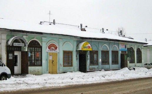 Торговые ряды в городе Александрове фото