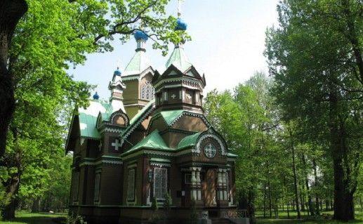 Петропавловская церковь в Юрмале фото