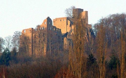 Фото замок Хоэнбаден