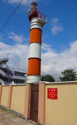 Фото адлерского маяка