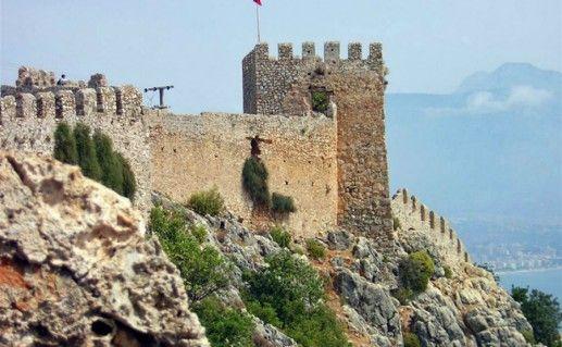 Аланийская крепость сельджуков фото
