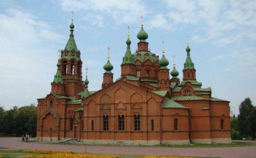 Фото Александро-Невская церковь в Челябинске