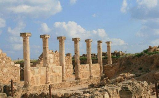 Фотография археологический парк Като Пафос