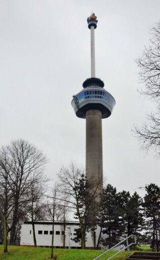 Башня «Евромаст» в Роттердаме фото