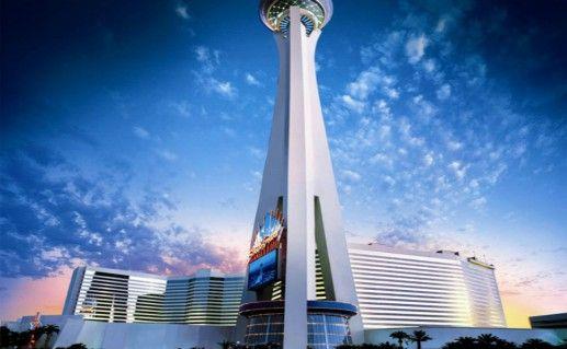 Башня «Stratosphere Tower» в Лас Вегас фотография