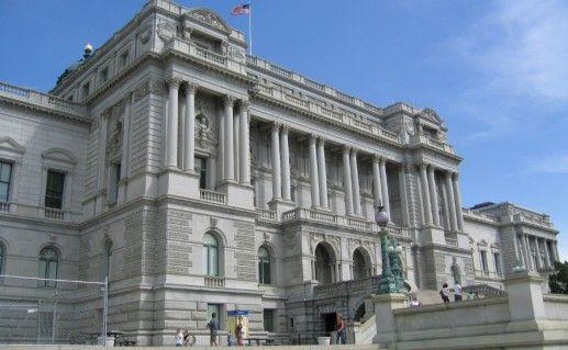 Фотография библиотека Конгресса