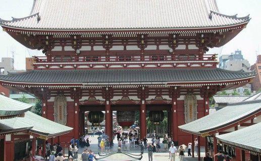 Буддийский храм Асакуса фото