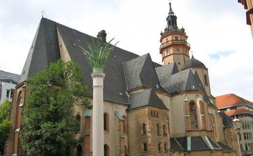 Церковь Святого Николая Лейпциг фото
