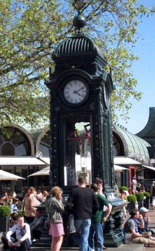 Фото часы Крёпке (Kröpcke-Uhr) Ганновер