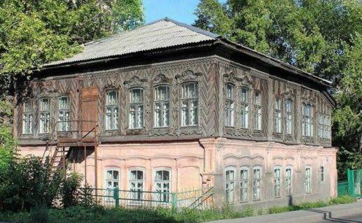 Дом купца Фонарева в Новокузнецке фотография