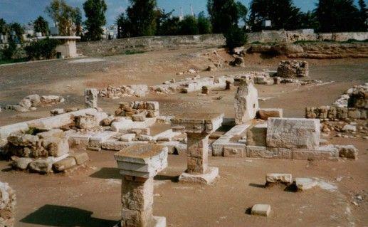 Древний Китион Ларнака фотография