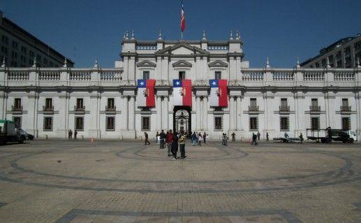 Дворец Ла-Монеда фото
