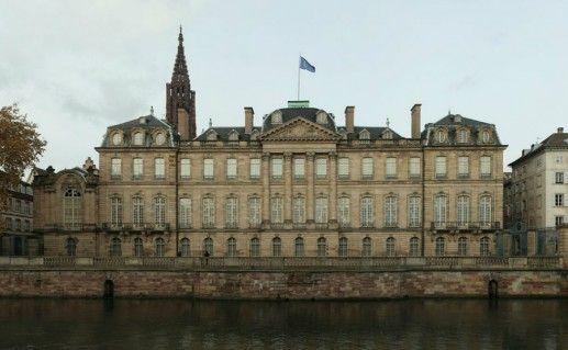 Дворец Роган  в Страсбурге фото