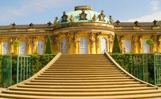 Дворец Сан-Суси фото