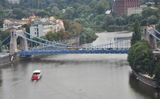 Грюнвальдский мост фотография