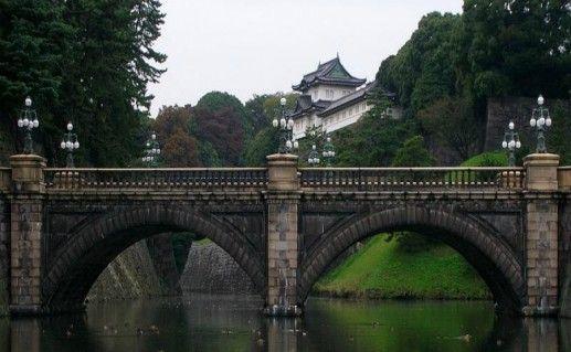Императорский дворец и сад фотография