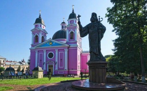 Фото Кафедральный собор Святого Духа в Черновцах