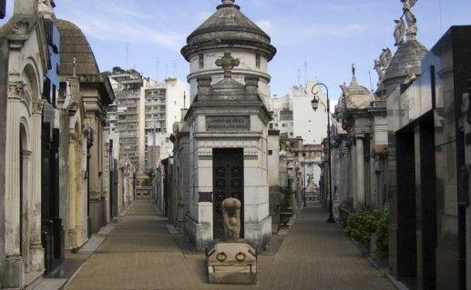 Кладбище Реколета фото