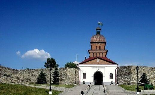 Фото кузнецкая крепость в Новокузнецке