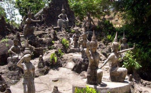 Фото магический сад Будды