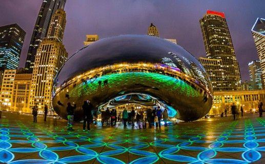 Фото миллениум-парк в Чикаго