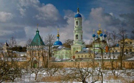 Фотография монастырь «Оптина пустынь» в Калужской области
