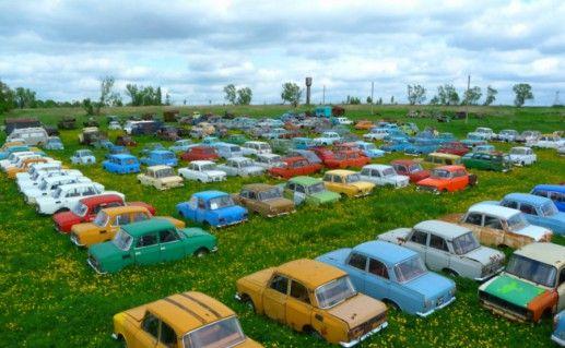 Музей «Авто-СССР» в Черноусове фотография