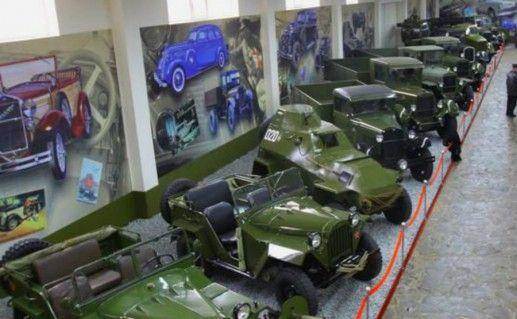 Фотография музей ретро-автомобилей в Запорожье
