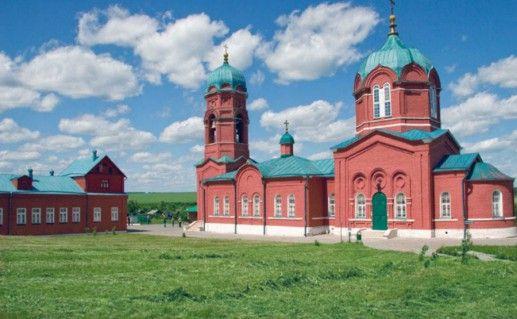 Музейный комплекс в селе Монастырщино Тульской области фотография