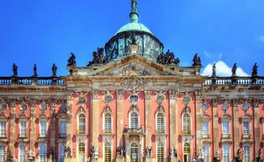 Фотография новый дворец Потсдама