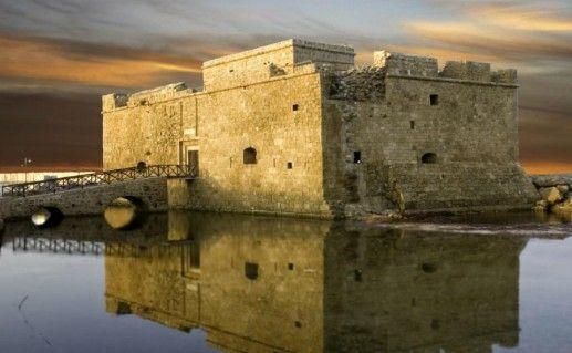 Пафосская крепость фото