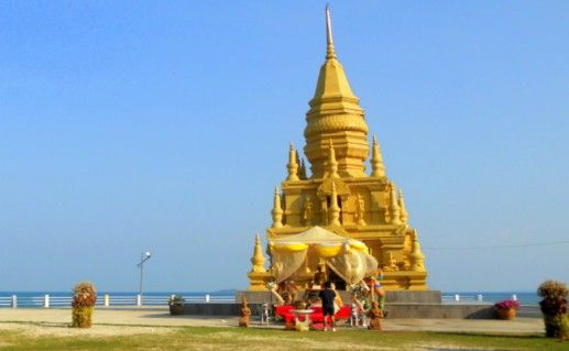 Фотография пагода Лаэм-Сор