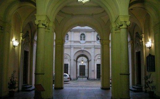 Палаццо Кавур в Турине фотография