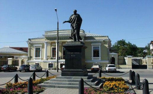 Фото памятник Александру I Таганрог