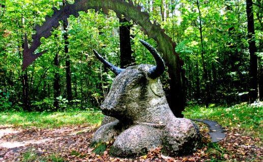 Фото парк Европы в Литве
