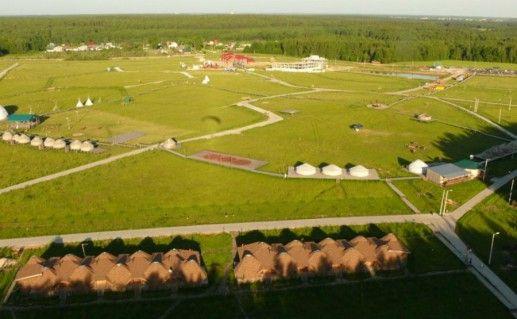 Парк «Этномир» в Калужской области  фотография