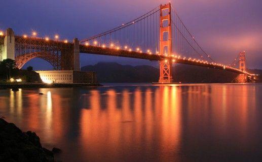 Подвесной мост «Золотые Ворота» фото
